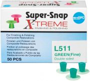 Super-Snap X-Treme  Groen, fijn, L511 (Shofu Dental)