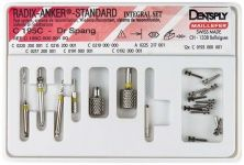 Radix-Anker® Standard Integral Set Roestvrij staal maat 1 (Dentsply Sirona)
